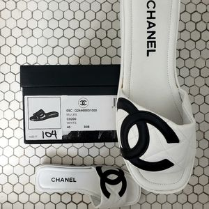 Sporty Chanel Mules